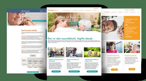 Onni-HubSpot verkkosivu-uudistus